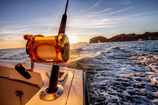 Big Game fishing reels ready to catch a big top water fish
